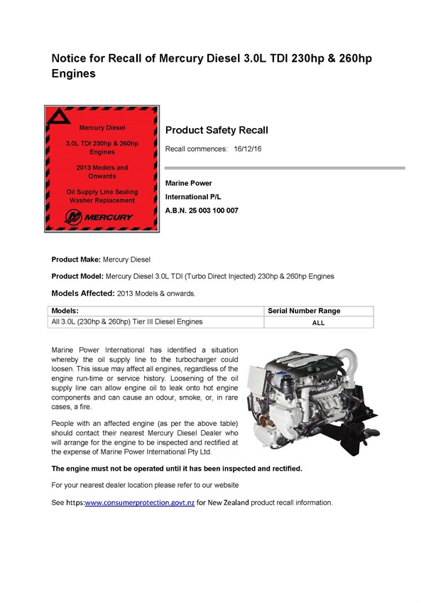 Attachment C - 3.0L TDI Safety Recall Website Notice Final SB 16-71 NZ VERSION - 2016_12_08